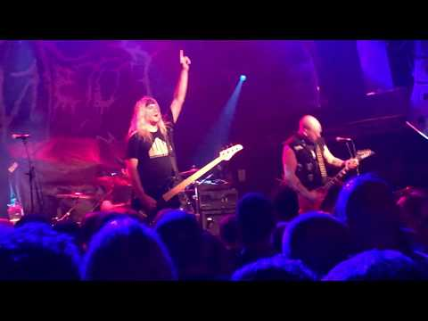 Toxic Holocaust - War Is Hell Live at the O2 Academy, Islington, London, October 2018 (HD)