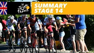 Summary - Stage 14 - Tour de France 2017