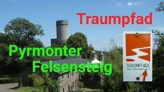 Dirks Wanderung Traumpfad Pyrmonter Felsensteig  Rhein Mosel Eifel