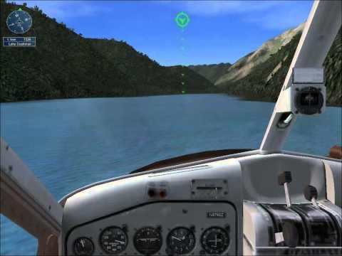 FSX- San Juan Island run landi...