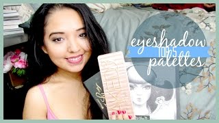 TOP 5 ♡ Eyeshadow Palettes Thumbnail