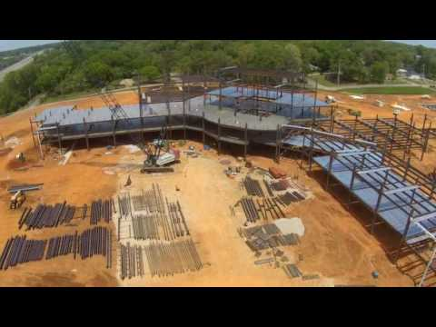 North Alabama Medical Center Aerial Footage 4/14/2017