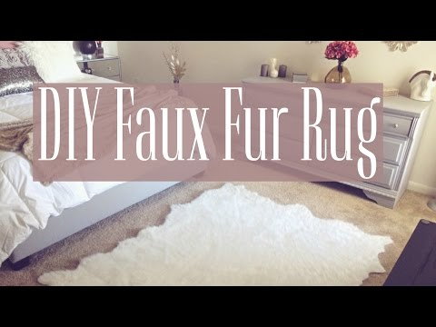 DIY | Faux Fur Rug
