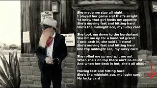 Billy F Gibbons - My Lucky Card {with lyrics}