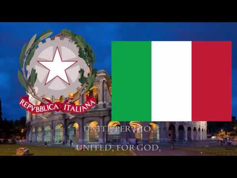 """Anthem of Italy """"Il Canto degli Italiani"""" (The Song of the Italians)"""