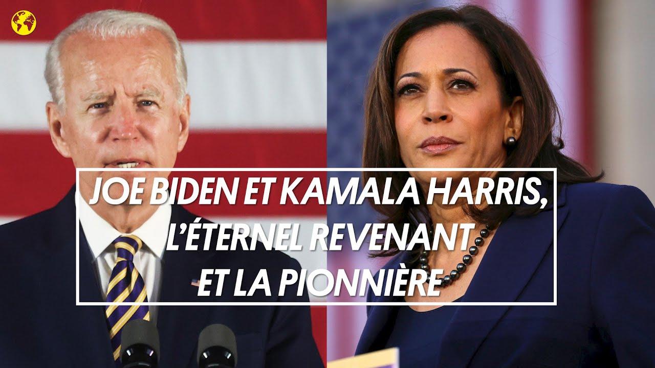 Joe Biden et Kamala Harris, l'éternel revenant et la pionnière