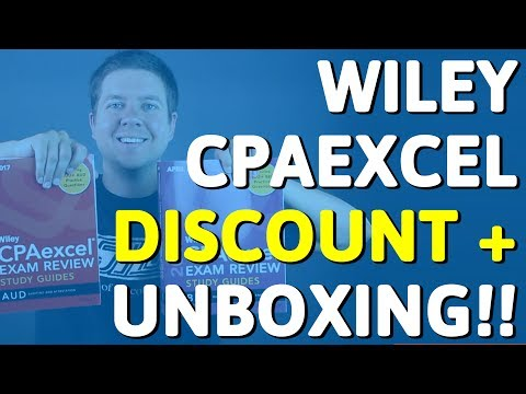 UNBOXING: Wiley CPAexcel 2017 (UPDATED FOR NEW EXAM) + Discount & Free Trial | CPA Guide TV, Ep. 11
