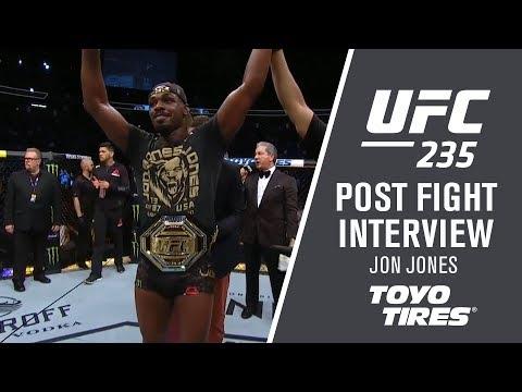 "UFC 235: Jon Jones - ""I Wanted To Finish The Fight"""