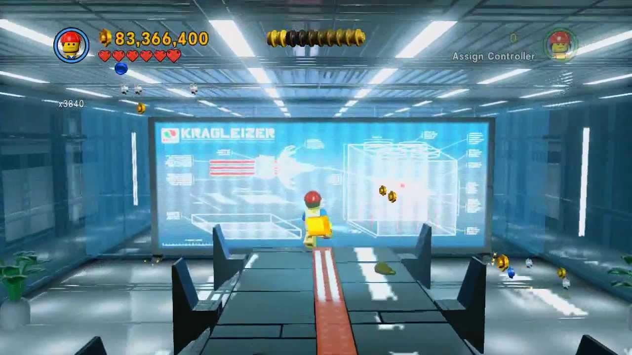 Broadcast News 100% collectibles guide (pants/gold pages) - The LEGO Movie Videogame