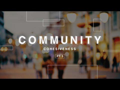 "Community Pt. 3 ""Cohesiveness"""