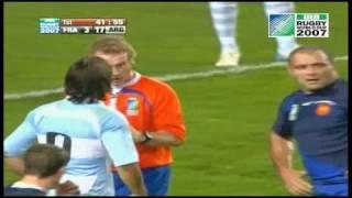 Rugby Argentina vs. Francia Partido 3er Pusto -   Defensa Puma