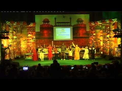 dance on medley of patriotic songs - UTSARG 2015 - Kala Ankur Ajmer