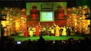 dance on medley of patriotic songs - UTSARG 2015 - Kala Ankur Ajmer