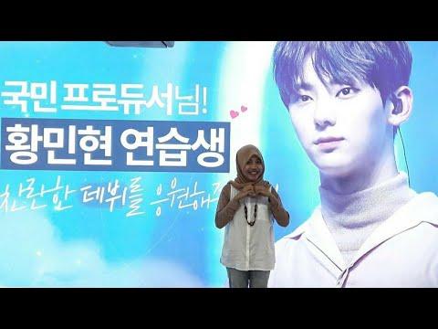 Produce 101 Season 2 Subway Advertisement AD Support - Travel around Seoul Subway