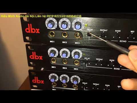 Vang cơ dbx dsp 3000 giá 1tr690,  bản nâng cấp chống hú giá 1tr890.LH:0919182233
