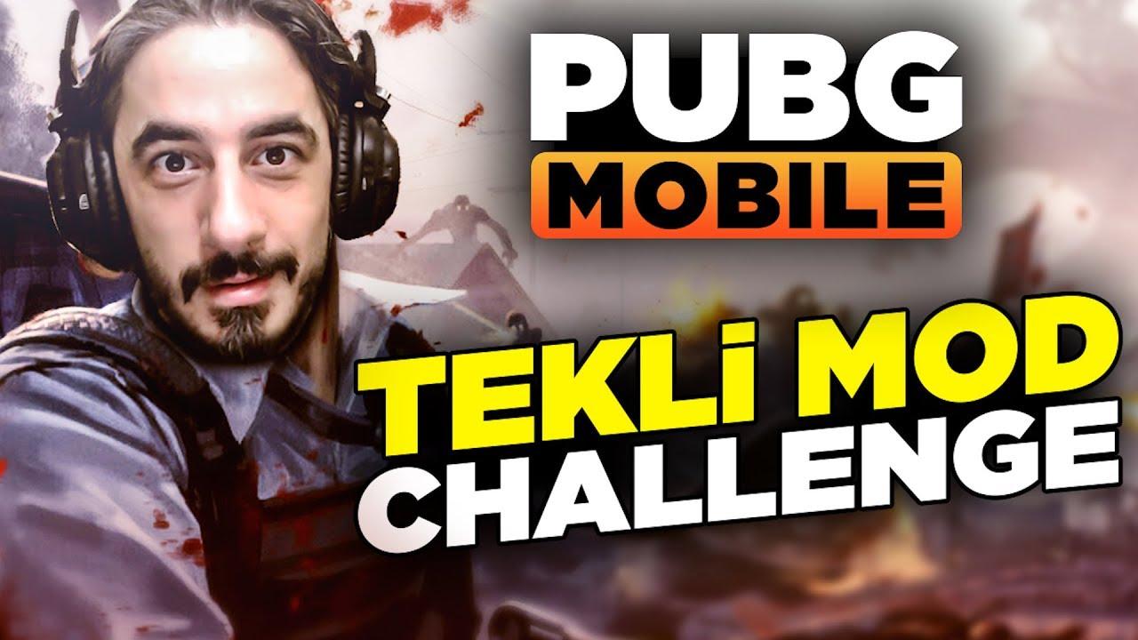 TEKLİ ATIŞ MODU CHALLENGE !!! - PUBG Mobile