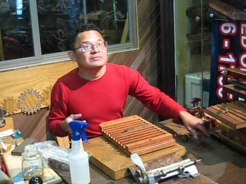 Timothy Torres Hand rolling a cigar part 1, April 14, 2012