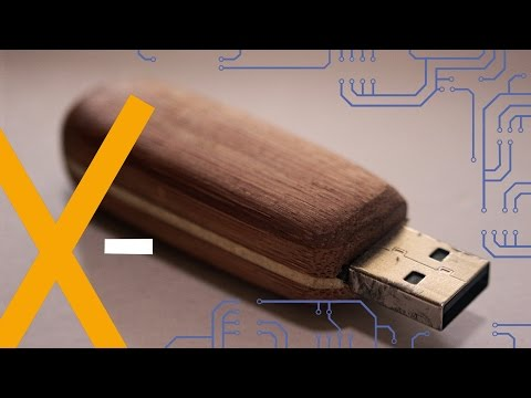 DIY wooden USB-Stick (easy woodworking project)