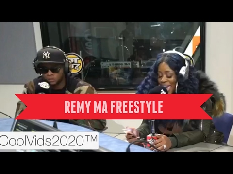 Remy Ma Freestyle over NY State of Mind