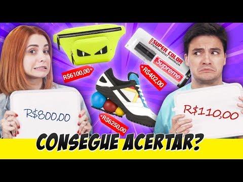 Desafio: ACERTE O PREÇO Com Bruna Gomes - Produtos De Marca!