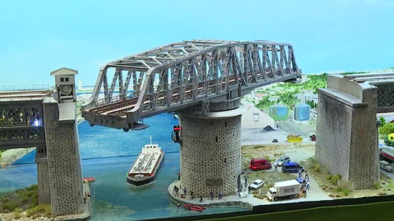 Cool Model Swing Bridges Hq Youtube