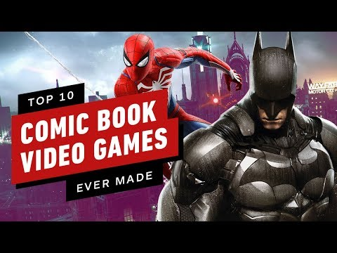 IGN's Top 10 Best Comic Book Video Games Ever Made