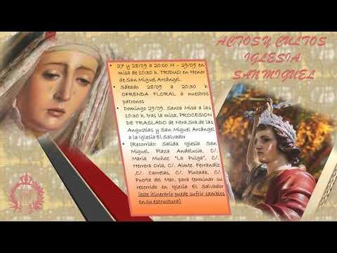 Prosececión De La Virgen De Las Angustias Y San Miguel Arcángel Y Patrones De Nerja -2019-.mp4