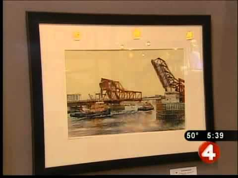 Marine Art exhibit debuts at waterfront