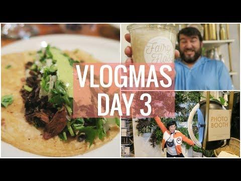 VEGAN MEXICAN FOOD + STATIONARY SHOPPING! | VLOGMAS 2017