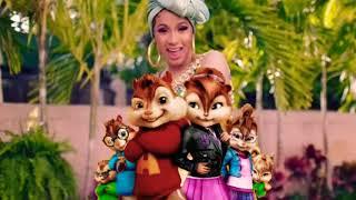 Cardi B, Bad Bunny, & J Balvin - I like it (The Chipmunks & Chipettes)
