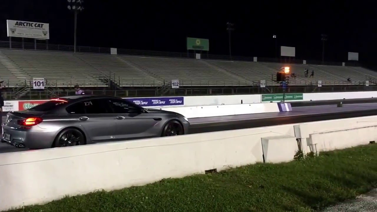 Drag Racing In My 2016 Bmw M6 Gran Coupe 1 4 Mile 11 7 Sec