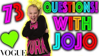 73 Questions with JoJo Siwa!! **PARODY**