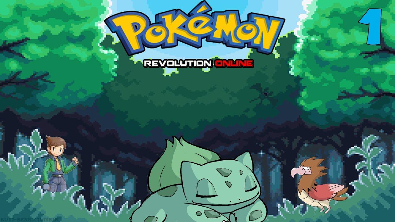 New Pokemon Game!  Pokemon Revolution Online PC  Episode