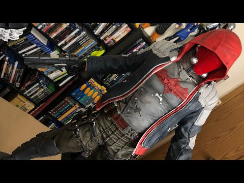 Unboxing / Review of Prime 1 Studio's Arkham Knight Red Hood Story Pack Exclusive!!!!