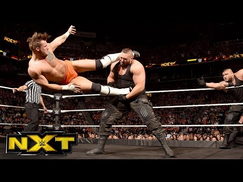 TM-61 vs. The Authors of Pain: WWE NXT, Aug. 24, 2016