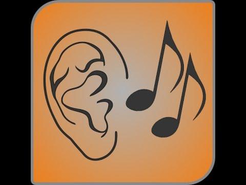 Ear training - intervals identification level 3