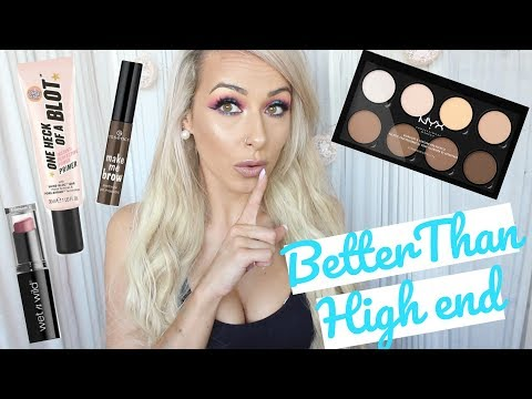 DRUGSTORE PRODUCTS THAT ARE BETTER THAN HIGHEND thumbnail