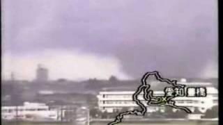 愛知県 豊橋市・豊川市 でかい竜巻のニュース 1999年