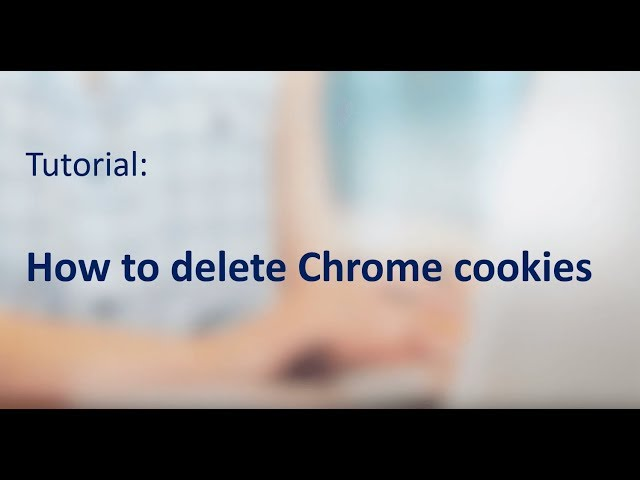 Clear Chrome cookies 2020 – how to delete your cookies in Chrome!