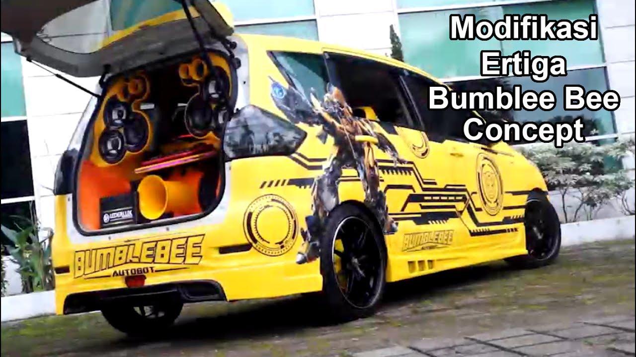Modifikasi Keren Suzuki Ertiga Audio-Bodykit