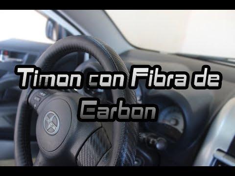 Volante con Carbon Fiber