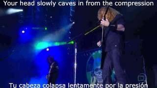 Head Crusher Megadeth (con subtitulos en español y lyrics)