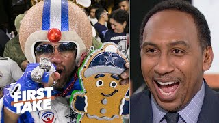 Stephen A. is all smiles after the Cowboys' win | First Take