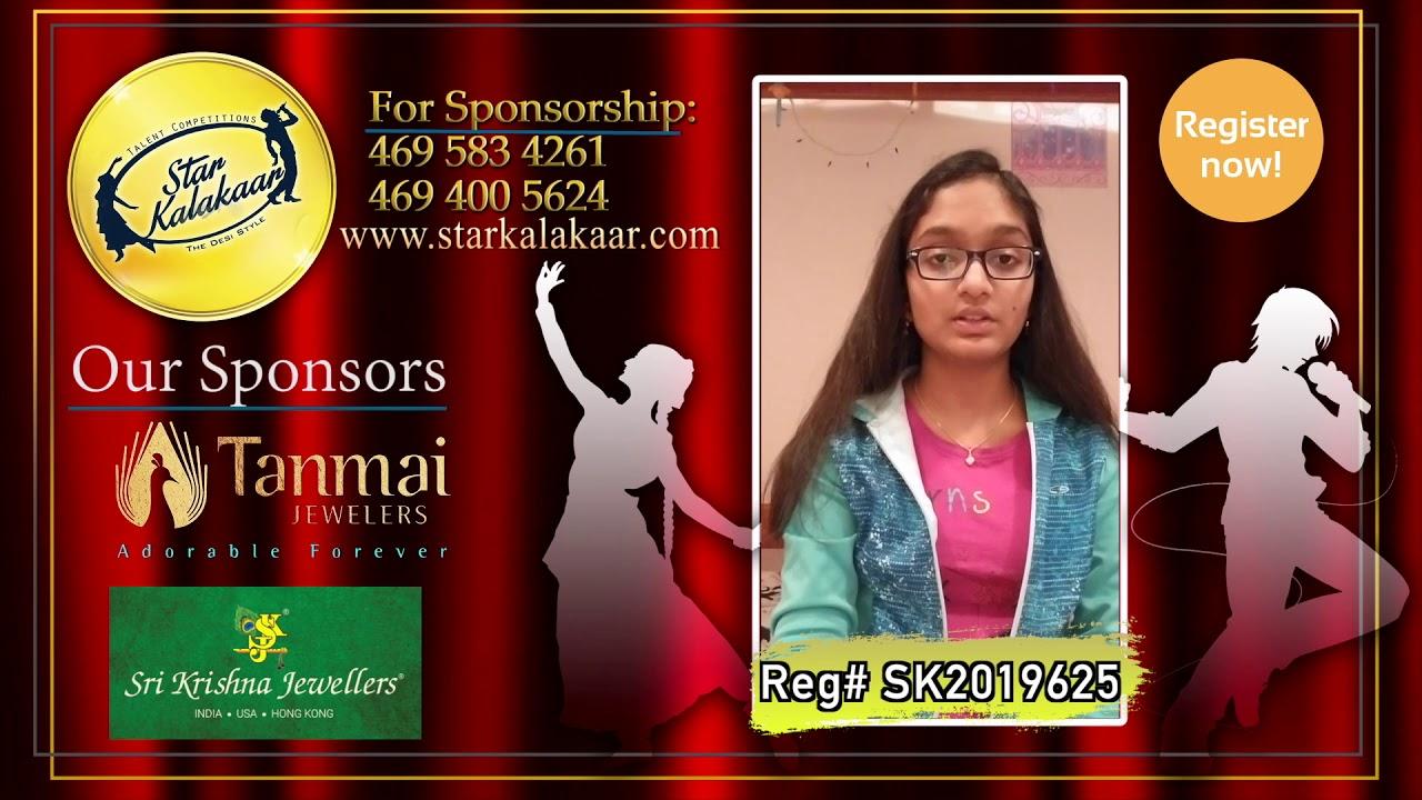Registration NO - SK2019625 - Introduction Videos StarKalakaar-2019 #SK2019