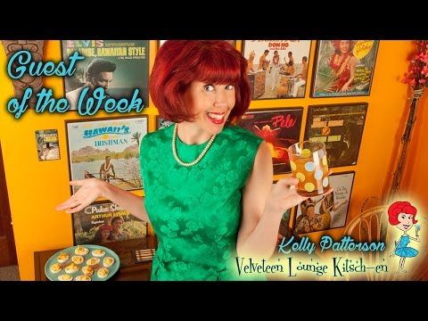 Thrifty Business Season 4 #2 Talking Kitsch w/ Kelly Patterson  - Velveteen Lounge Kitsch-en