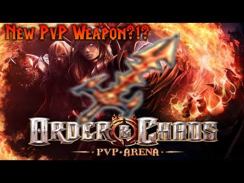 Order & Chaos Online - New PvP Weapon?!?