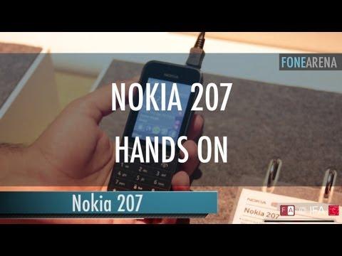 Nokia 207 Hands On