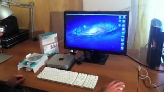 Webcam Logitech C270 on MacMini i5 with Mac OSX 10.7.3 Lion