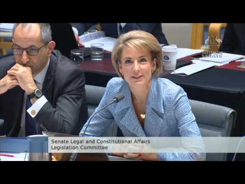 Michaelia Cash Says Some Asylum Seekers Only Able to Apply for Protection Visa since December 2016
