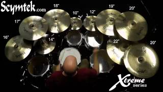 Scymtek Cymbals-Xtreme Series, Hard Rock Demo